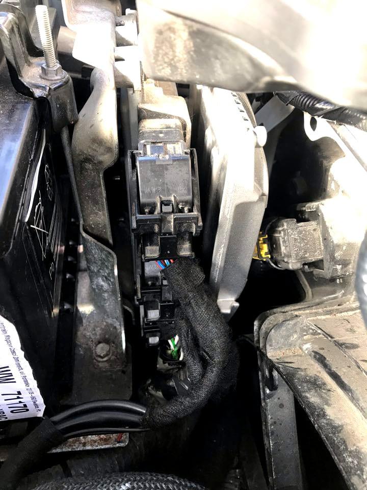 Sterownilk LANDIRENZO OMEGAS DIRECT 3.0 zamontowany w Nissan Qashqai 1.2 2017