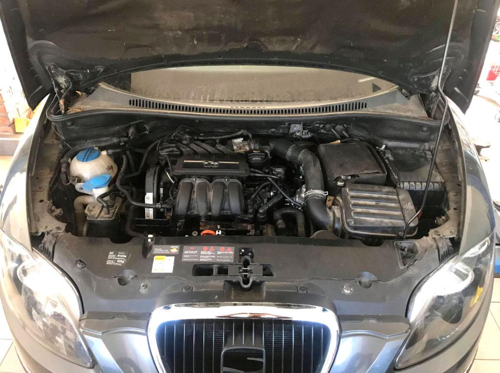 Seat Altea 1.6 MPI instalacja gazowa Lovato Easy Fast C-OBD LPG
