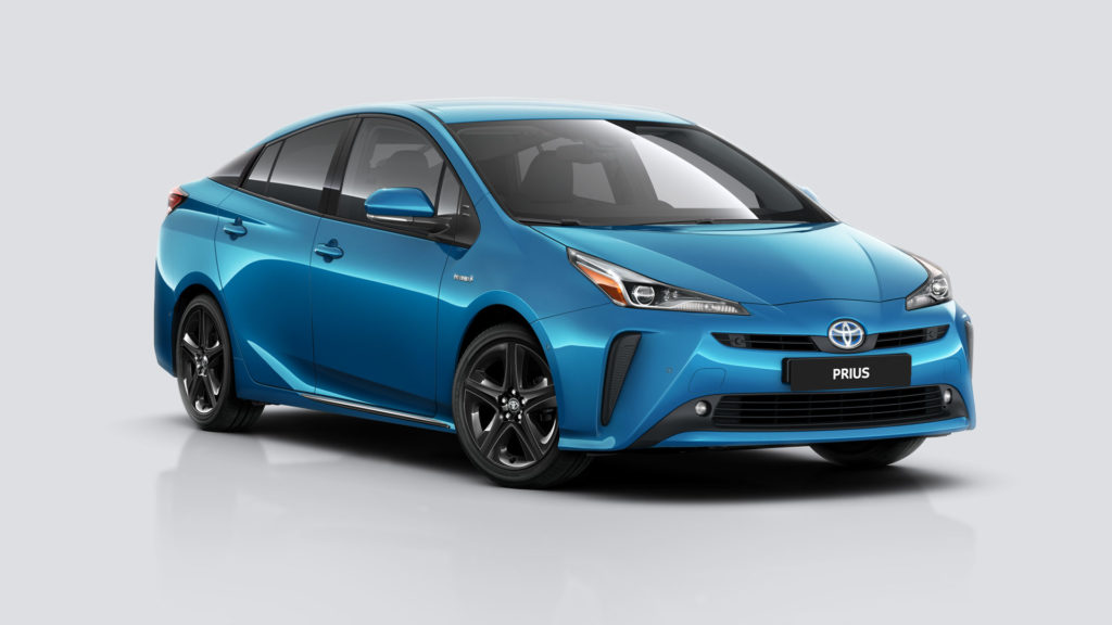 Hybrydowa Toyota Prius nadająca się do montażu instalacji LPG