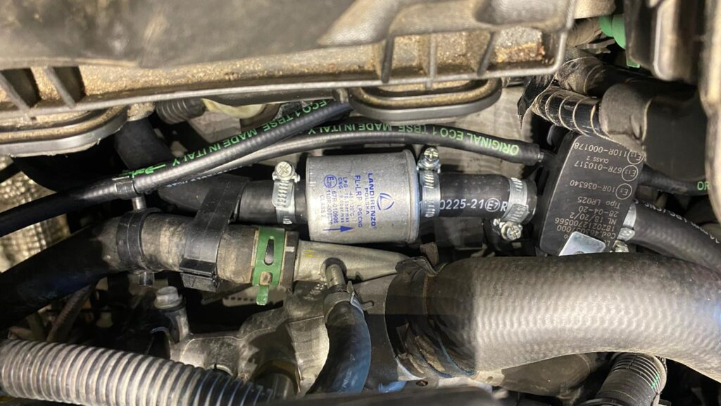 Filtr gazu fazy ciekłej Landi Renzo w Renault Laguna 2013 2.0 140KM
