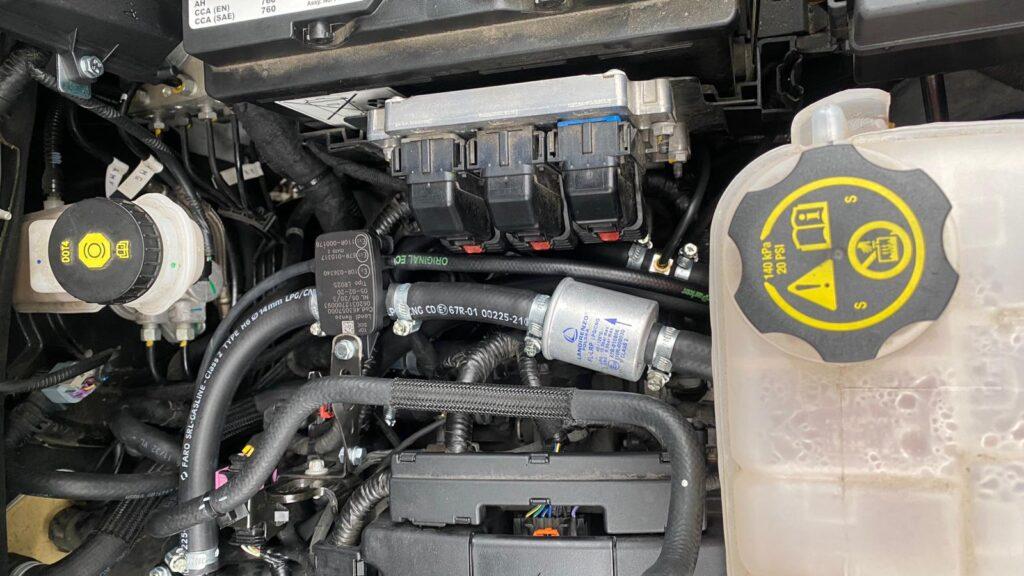 Filtr gazu fazy lotnej w Opel Mokka 1.6