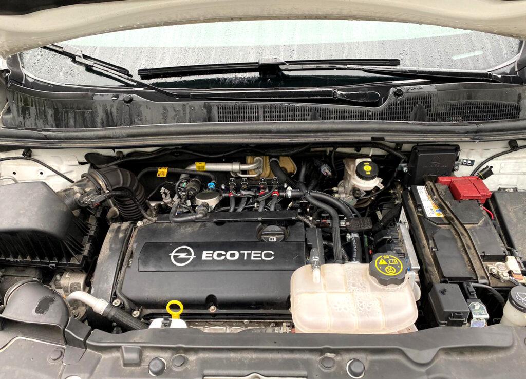 Instalacja gazowa Landi Renzo Evo w Opel Mokka 1.6