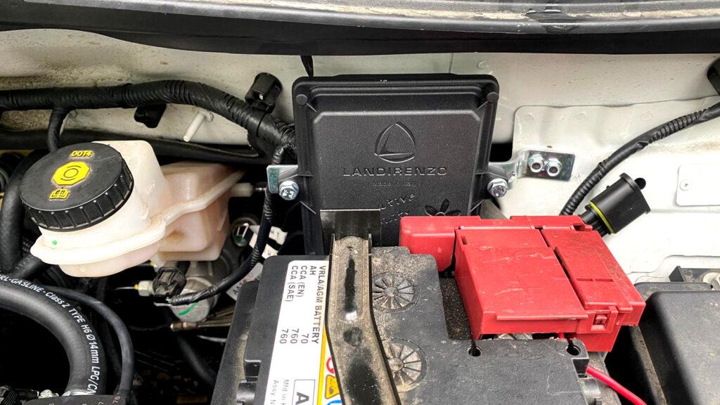 Sterownik Landi Renzo Evo w Opel Mokka 1.6
