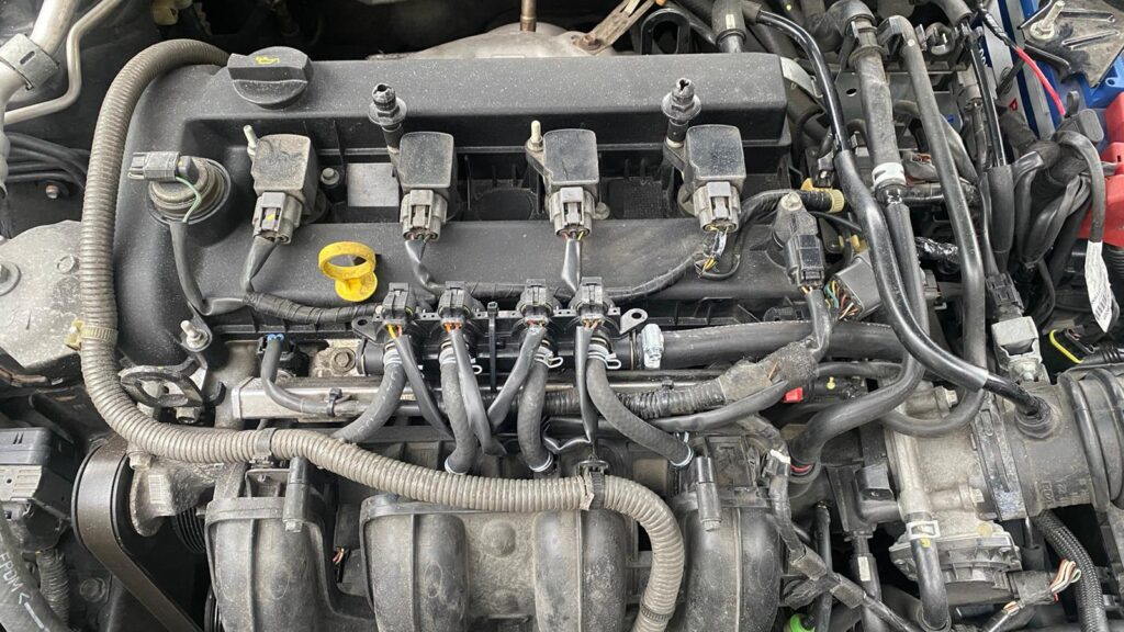 Wtryskiwacze LPG AEB Landi Renzo Evo w Mazda 6 II 2.5 170km 2010
